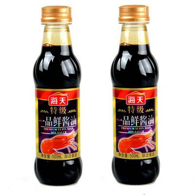 海天 特级一品鲜酱油500ml(114345)