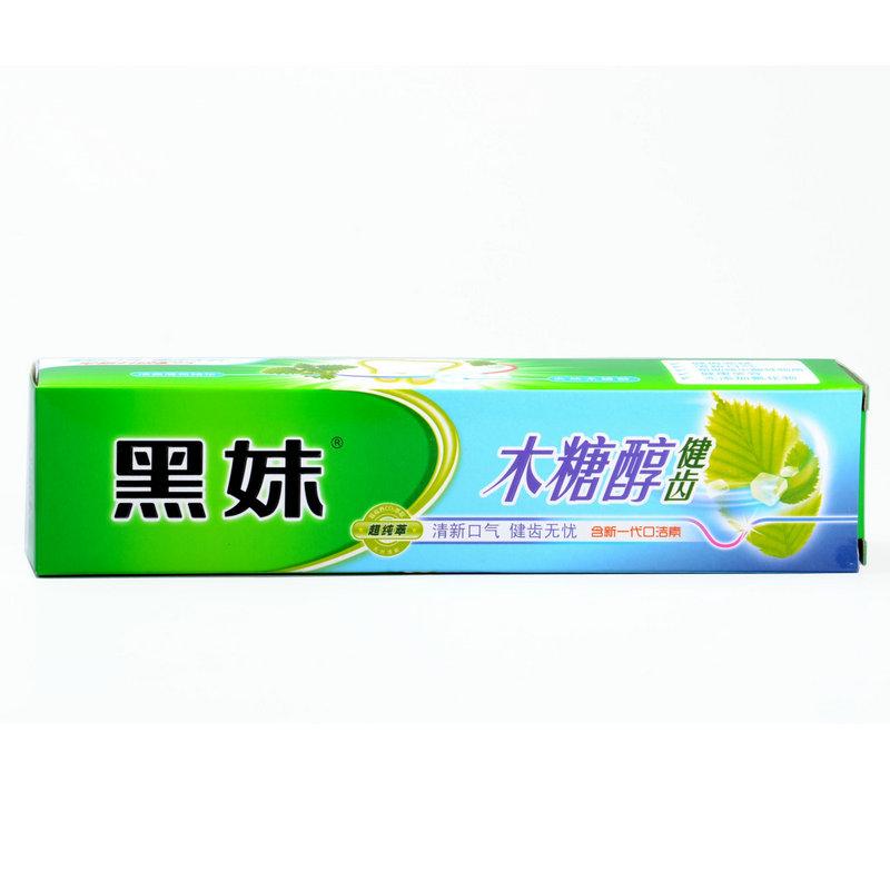黑妹 木糖醇健齿牙膏160g(190562)