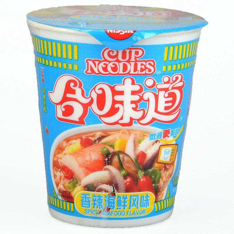 合味道香辣海鲜风味方便面(杯装)(002181)